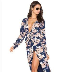 NWT LOVERS + FRIENDS X REVOLVE FLORAL MAXI DRESS